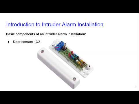 Introduction to Intruder Alarm Installation by Cube Training - YouTube