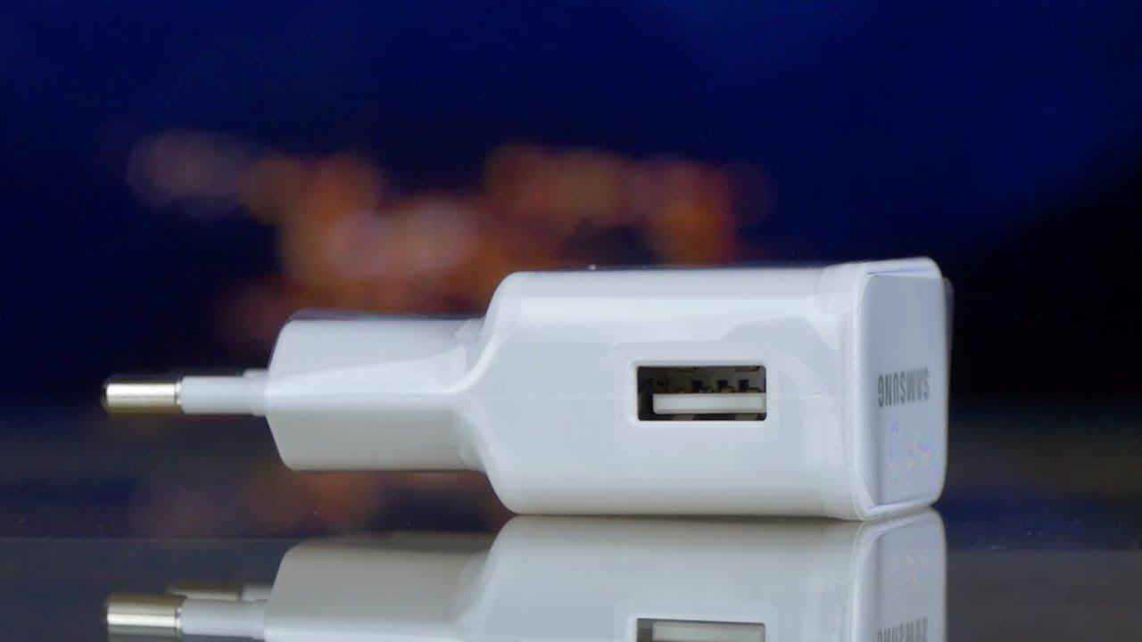 Универсальное сетевое ЗУ Samsung (EP-TA20EWEUGRU) Quick charge white video preview