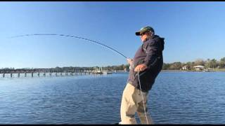 preview picture of video 'Charleston Fishing Charters- Fly Fishing The Charleston Area'