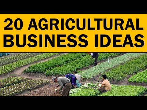 , title : '20 Profitable Agricultural Business Ideas to Start Your Own Business