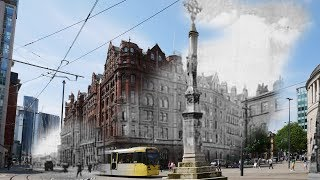Manchester THEN And NOW Photography New And Old Buildings Timetravel