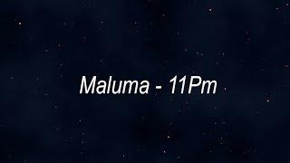 Maluma   11Pm  (Lyrics Translation In English)