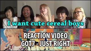 Yi Family Reacts | GOT7 Just Right (갓세븐 딱 좋아) MV