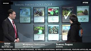 Pro Tour Fate Reforged: Draft Viewer with Sam Pardee
