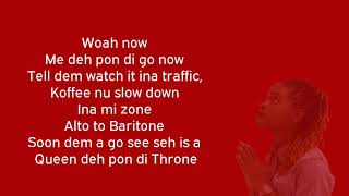 Koffee Throne Lyrics