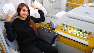 THE $21,000 FIRST CLASS AIRPLANE SEAT !!!