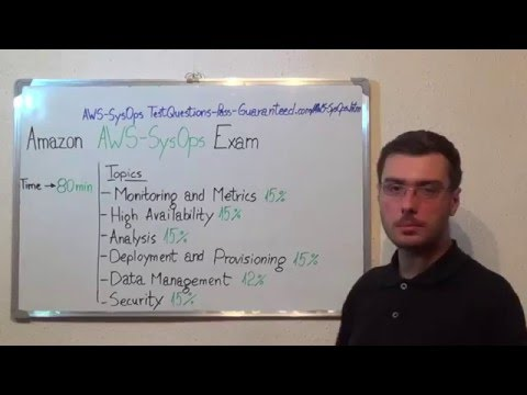 AWS-SysOps – Certified Exam SysOps Test Associate Questions ...