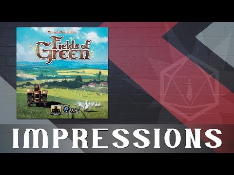 Roll to Hit Impressions:  Fields of Green