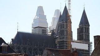 preview picture of video 'Cathédrale de Tournai (Hainaut-Belgique)'