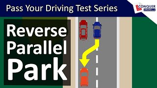 Reverse Parallel Parking UK Made Easy - Driving Test Manoeuvre