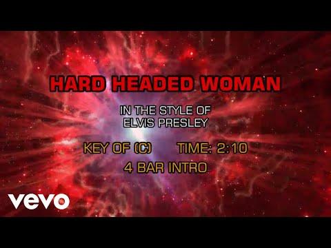 Elvis Presley - Hard Headed Woman (Karaoke)