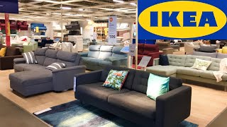 IKEA REOPEN HOME FURNITURE SOFAS COUCHES ARMCHAIRS SHOP WITH ME VIRTUAL SHOPPING STORE WALKTHROUGH