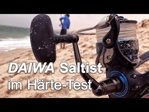 DAIWA SALTIST 2017 Härte-Test Hardcore Field Test Review