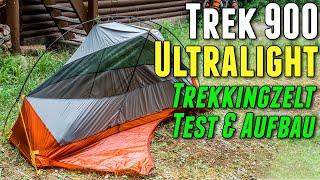 Trekkingzelt Trek 900 Forclaz - Test & Erfahrungen - Beweist sich das Ultralight Zelt von Decathlon?