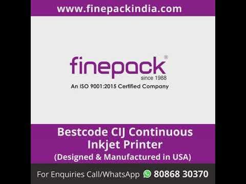Bestcode Continuous Inkjet Machine