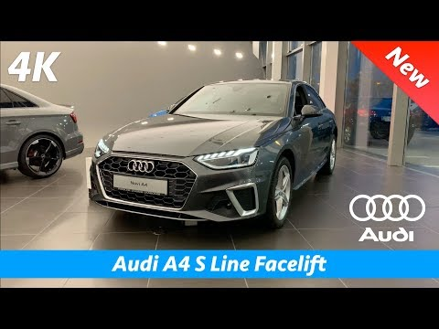 Audi A4 S Line 2020 (Facelift) - FIRST quick look in 4K | Interior - Exterior (Day & Night)