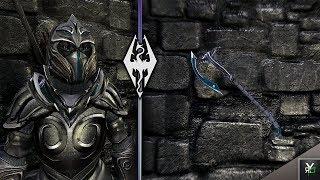 MYSTIC ELVEN ARMOR: Armor/Weapon Re-Skin Mod!!- Xbox Modded Skyrim Mod Showcase