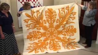 Orange Antique Quilts