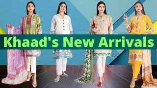 Khaadi New Arrivals   Female Fashion Wear