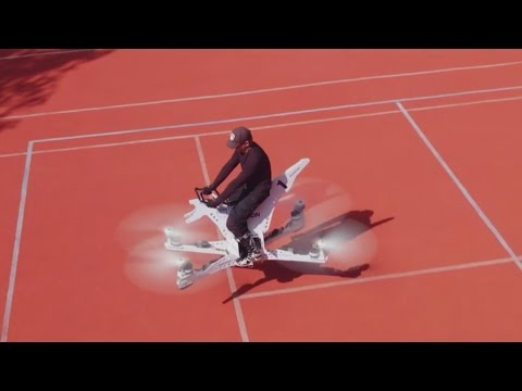 Incredible drone-powered