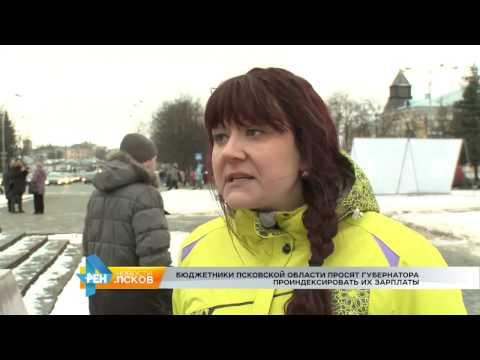 Новости Псков 14.02.2017 # Митинг бюджетников