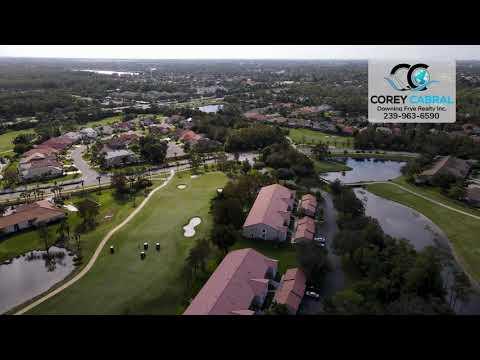 Glen Eagle Golf & Country Club Naples FL 360 Aerial Real Estate Homes & Condos