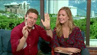 Bending a Fork and Reveling the Name of Brooke's First Kiss on Fox 13 The Place
