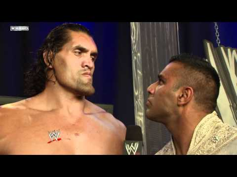 SmackDown: The Great Khali and Jinder Mahal discuss the Battle Royal