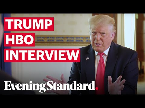 Axios Trump interview: Donald Trump fumbles over figures in 'car crash' interview with Jonathan Swan