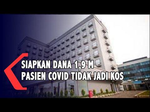 Dana turun !,9 M Untuk Pasien Covid