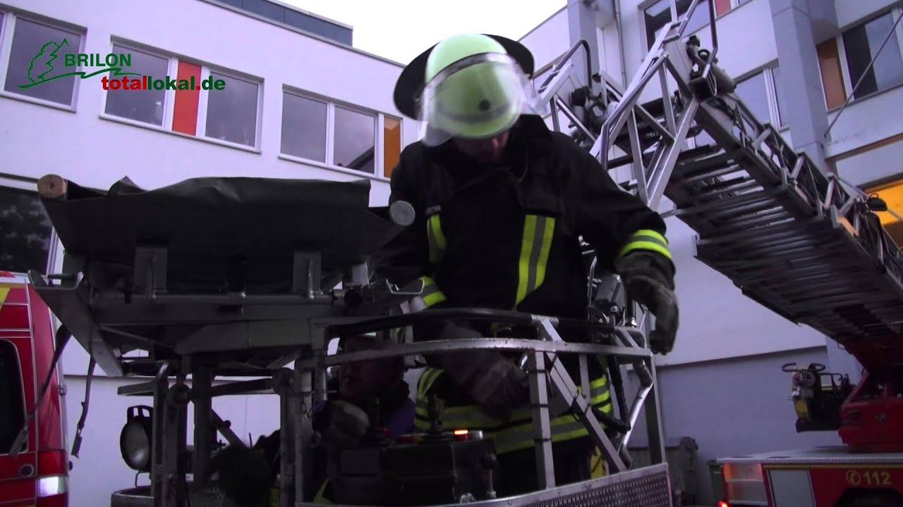 Proben für den Ernstfall – Feuerwehr Brilon