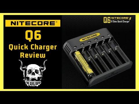 YouTube Video zu Nitecore Quick Charger Q6 6-Schacht-Schnellladegerät