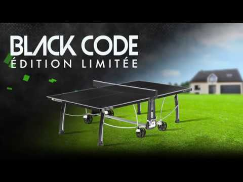 Cornilleau Black Code Outdoor (Limited Edition)