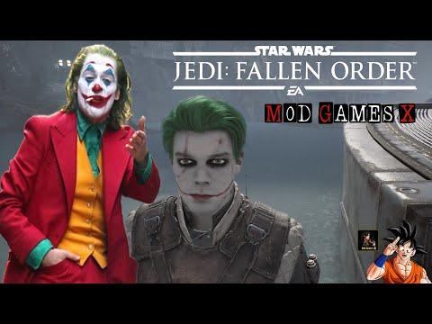 "Joker Cal Mod - Star Wars Jedi: Fallen Order ""Dublado PT-BR"""