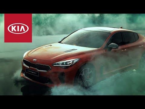 Kia  Stinger Лифтбек класса D - рекламное видео 4