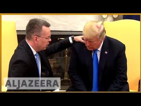 🇺🇸 Trump hosts freed US pastor Brunson at White House | Al Jazeera English