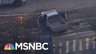 Former NYPD Chief: Seamless Collaboration After Terrorist Attacks | MTP Daily | MSNBC thumbnail