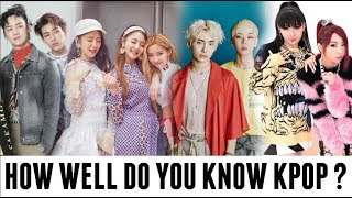 HOW WELL DO YOU KNOW KPOP ? Can you name these 100 songs