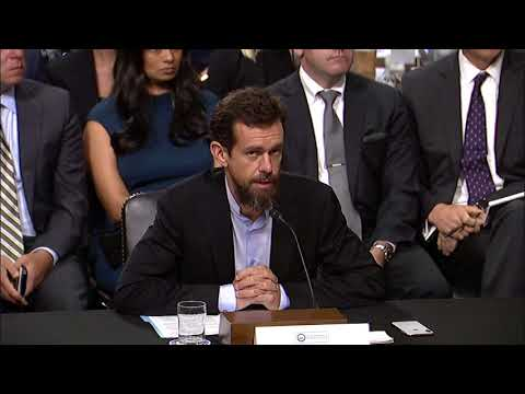 Reed Questions Facebook & Twitter Executives at Intelligence Hearing