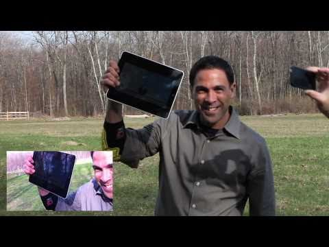 Watch An iPad Survive A Harrowing 150m Drop