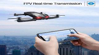 Syma Z1 RC Pocket Foldable Selfie Drone with FPV WiFi Camera Altitude Hold Mode Quadcopter
