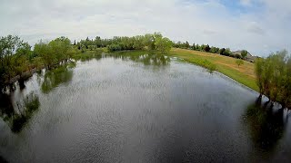 FPV Break Flight in California - 2021-04-25 - A dream of lower rates and a new park with water...