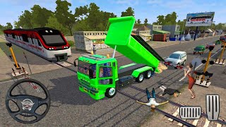 Bussid Dump Truck Driving - Bus Simulator Indonesia - Android Gameplay #3