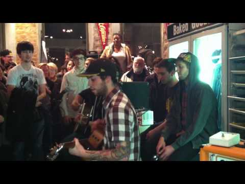 Late in the Playoffs - New Directions (Acoustic) @ Johnny Cupcakes