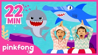 Baby Shark Dance and more | +Compilation | Best Sea Animal Songs | Pinkfong Songs for Children