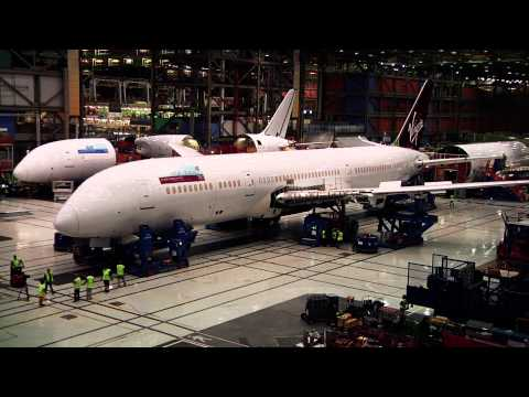 Watching A Boeing 787 Dreamliner Come Together Never Gets Old