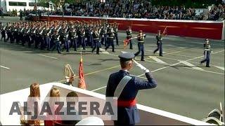Spain celebrates National Day amid Catalonia crisis | Kholo.pk