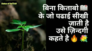 LIFE, SMILE, RELATION, DREAMS Status Shayari Quotes Sunday #130