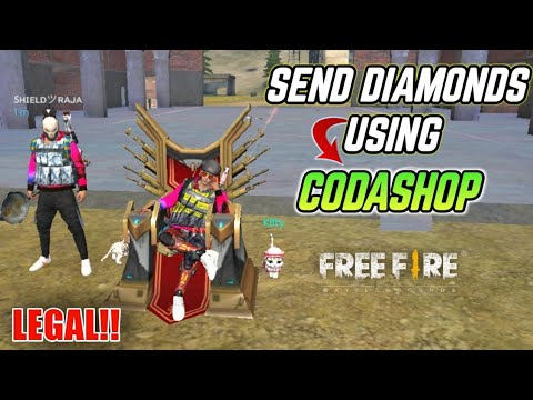 FREEFIRE- NOW SEND DIAMONDS TO YOUR FRIENDS AND YOUR SELF USING CODASHOP CHECK OUT!! ||FREEFIRE BG||