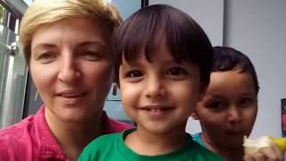 Индия. Индо - русская семья в Гоа, 2018. Влог 77. Сезон дождей в индии. Поездка в Савантвади.